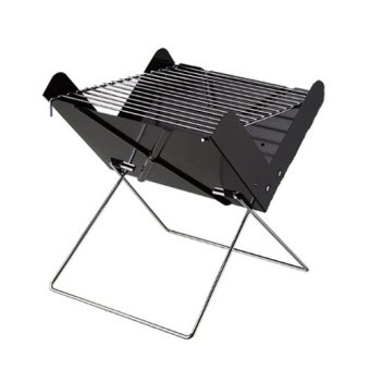 Portable Folding Charcoal BBQ Grill Detachable Barbecue Grill forOutdoor Easy to Assemble