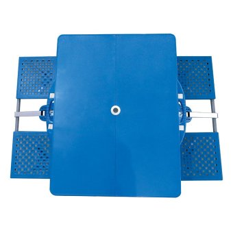 Portable Folding Table (Blue) - picture 4