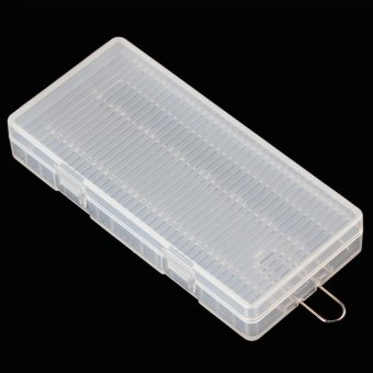 Portable Hard Plastic Case Holder Storage Box for 8 x AA Batteries- intl