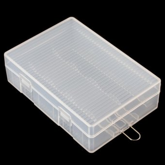 Portable Hard Plastic Case Storage Box for 4 x 26650 Batteries -intl