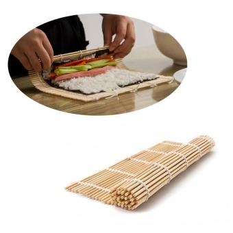 Portable Kitchen Rice Roll Maker Bamboo Sushi Mat - intl