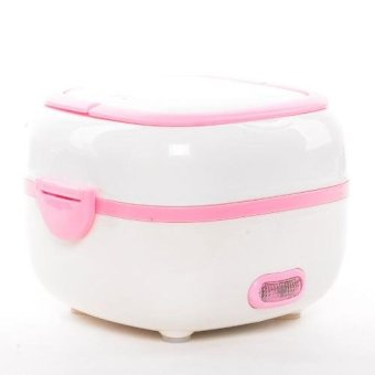 Portable Lunch Box Cooker (Pink) Price Philippines