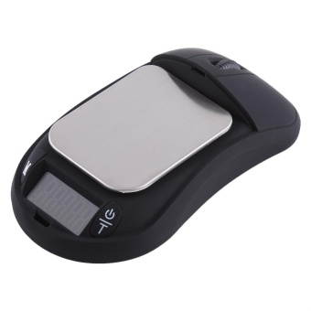 Portable Mini Digital Pocket Scale Mouse Shape High Precision Jewelry Gold Scales(500g/0.01g) - intl