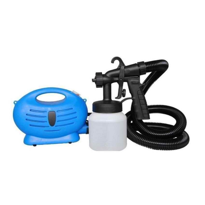 Portable Paint Zoom Sprayer (Blue/White)