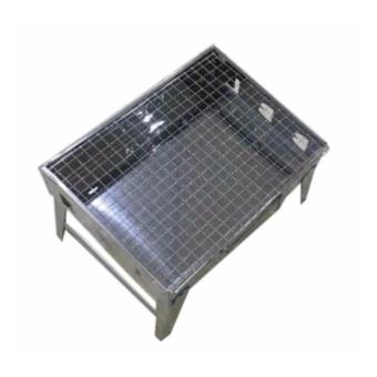 Portable Stainless Steel Barbecue BBQ Grill Pit - 2