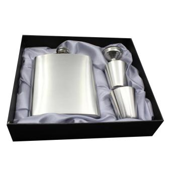 Portable Stainless Steel Flask Sets Gift Whiskey Liquor BottleFlagon