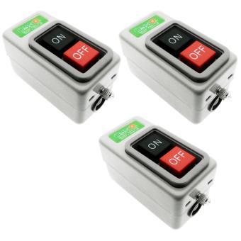 Power Push Button Switch 10A 1.5KW- PBS-310- 3set - 3