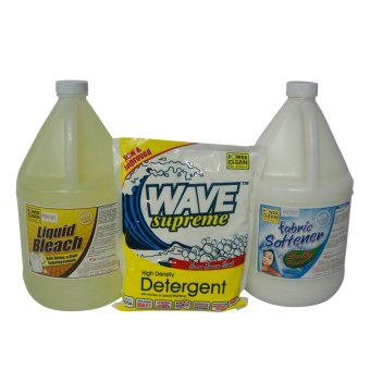 Powerclean Laundry Cleaning Product Set of 3 (Multicolor) Price Philippines