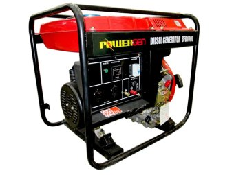 Powergen SFD4000 Portable Generator Black/Red - picture 2