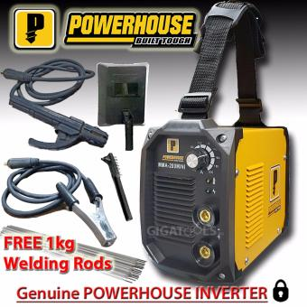 Powerhouse 200A Portable Inverter Welding Machine (100% Copper) with FREE Welding Rod Price Philippines