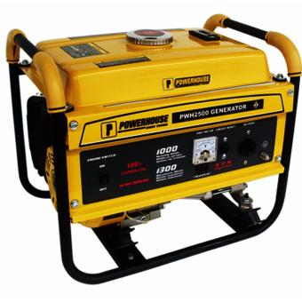 Powerhouse Generator PWH2500(1.0-1.3KW) Gasoline (Yellow)