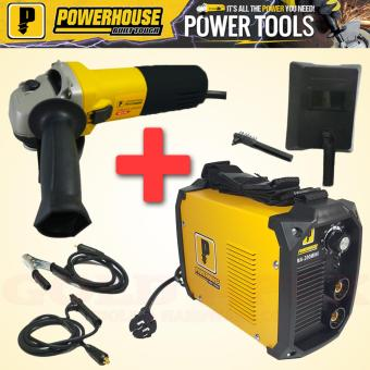 Powerhouse MMA 200A & PHB-6-100 (Inverter Welding Machine &Angle Grinder Bundle) Price Philippines