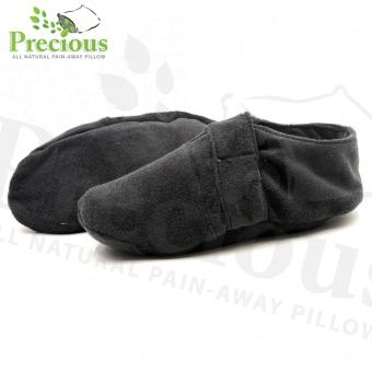 Precious Herbal Pillow Shoes Hot and Cold Compress Pain Reliever (White/Green)