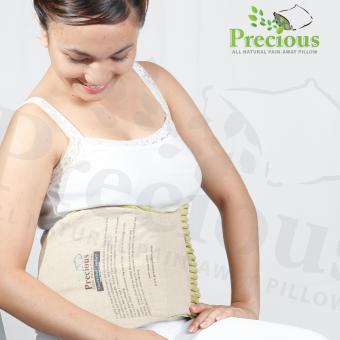 Precious Herbal Pillow Waist Herbal Pad Microwave Hot and ColdCompress Pain Reliever (Green) Price Philippines