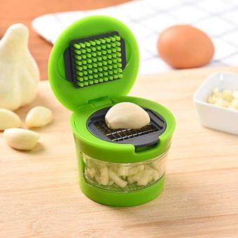 Pressing Vegetable Onion Garlic Food Slicer Chopper Cutter PeelerGrater Tools - intl