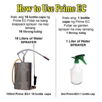 Prime EC Foliar Liquid Fertilizer 300ml with Free Plantmate OrganicFertilizer 1 kg - 4