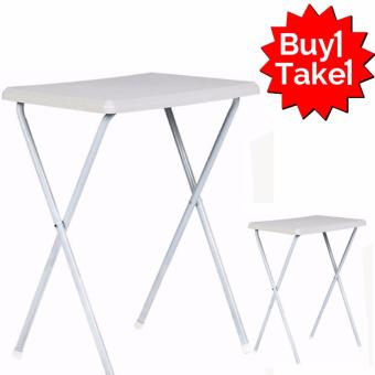 Primetime Higear Hi Fold Away Table (White) BUY 1 TAKE 1