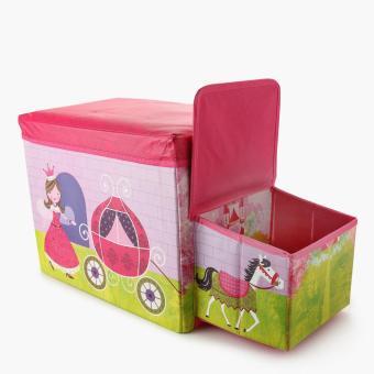 Princess' Carriage Foldable Storage Box