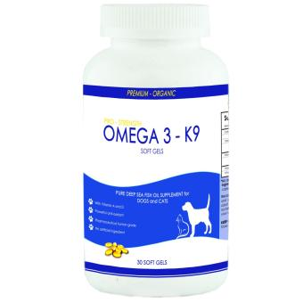 Prolific Oatmeal Organic Soap for Cats and Dogs 130g Set of 3 With Free Pure Deep Sea Fish Oil Omega 3 Supplement for Dogs and Cats 30 soft gels - 4