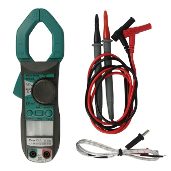"Pro'sKit MT-3102 1.7"" LCD Mini Hand-Held Digital Clamp Meter -Green + Dark Grey - intl Price Philippines"