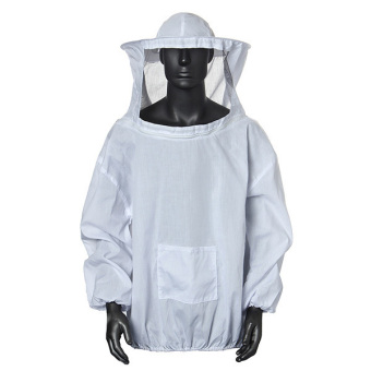 Protective Beekeeping Jacket Veil Dress With Hat Equip Suit Smock White Price Philippines