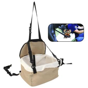Quality Pet Dog Puppy Cat Kitty Car Seat Carrier Car Auto VehicleLeash - intl Price Philippines