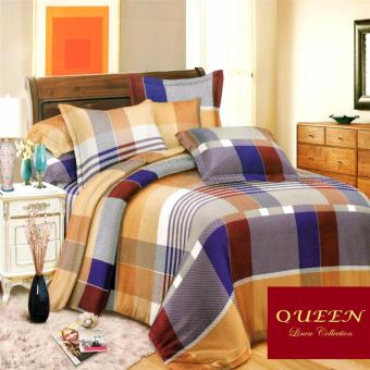 Queen Classic Linen Collection Fitted Bedsheet Set of 3(AOIE-069)