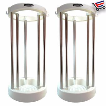 Rain Stand Stela Space Saving Stainless Steel Max 10pcs UmbrellaHolder Set of 2 Price Philippines