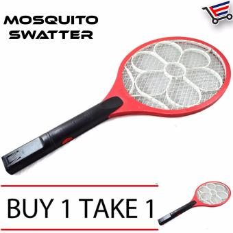 Rechargeable Big Electric Mosquito Swatter Killer Buy 1 Take 1
