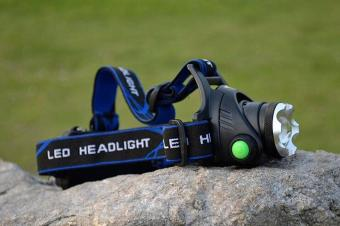 Rechargeable LED Head Lamps CREE T6 Flashlight - intl - 2