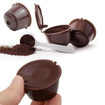 Refillable Dolce Gusto Capsule Reusable Pods Filter Coffee Cup -intl - 2