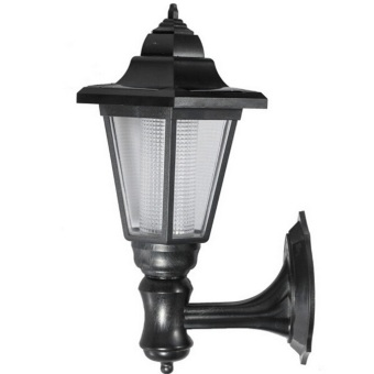 Retro Solar LED Pathway Wall Light Outdoor Garden Landscape Courtyard Lamp