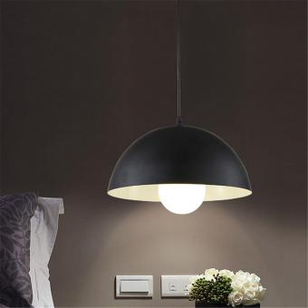 Retro Style Ceiling Pendant Light Shade Lampshades Shades Black - intl