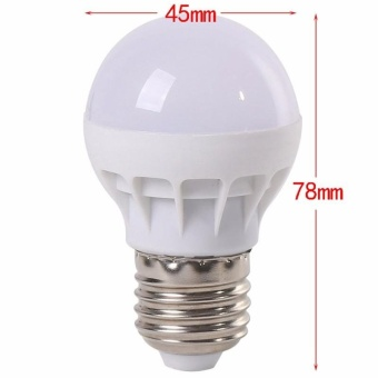 RGB LED Light Bulb - Color Changing with Remote Control,3W-E27-B50 - intl - 3