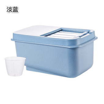 Rice storage box beans container cover cereal plastic boxes