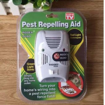 Riddex Pest Repelling Aid Pest Insect Repellent Safe to useBuilt-in LED light