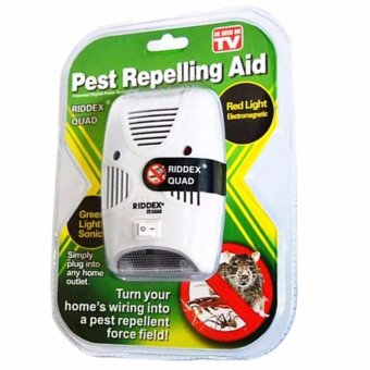 Riddex Quad Digital Pest Repelling Aid (As Seen On TV)
