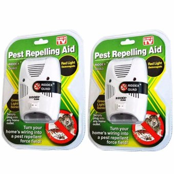 Riddex Quad Digital Pest Repelling Aid (As Seen On TV) SET OF 2