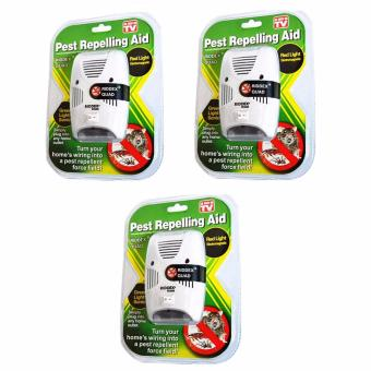 Riddex Quad Digital Pest Repelling Aid (As Seen On TV) SET OF 3