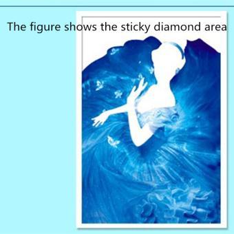 Rising Star Cinderella DIY 5D Diamond Painting Cross Stitch FullDrill Rhinestone Painting Decor J-21 - 4