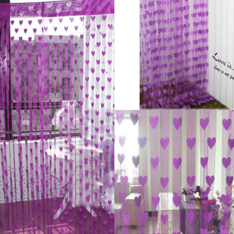 Romantic Heart Shape Line Curtain for Partition Wall VestibuleCurtain Modena Price Philippines