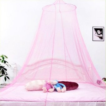 Romantic House Hang Dome Mosquito Net (Light Pink) Price Philippines