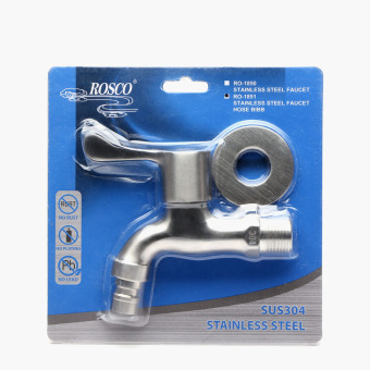 Rosco RO-1851 Stainless Steel Faucet Hose Bib Price Philippines