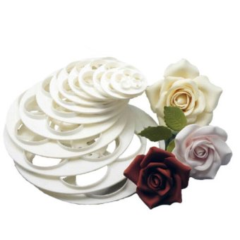 Rose Flower Cake Decorating Sugarcraft Cookie Paste Cutter Mold
