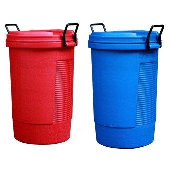 Round Bin (Red/Blue)