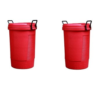 Round Bin (Red) Bundle of 2 - picture 2