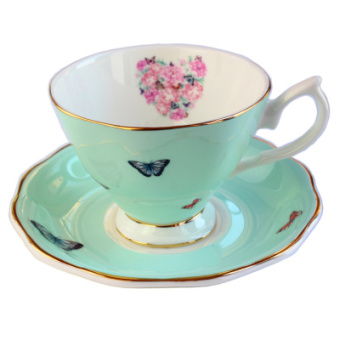 Royal British European bone china coffee cup
