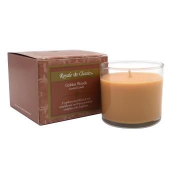 Royale Classics Scented Candle (Golden Woods)
