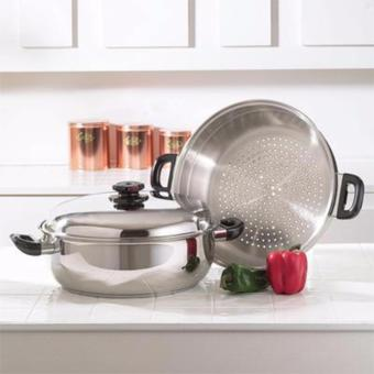 Rukia High Quality Stainless Steel Steamer Pot 28-cm