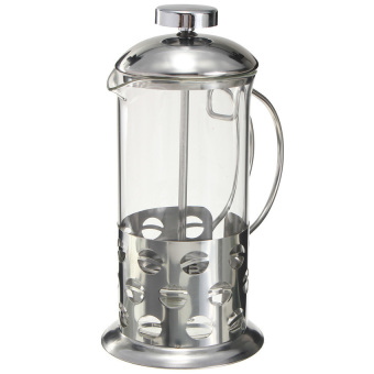 S & F Coffee Press Plunge Glass Cafetiere French Filter 350ML(Intl)